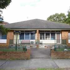 Rental info for Ground Floor Villa in the Sydney area