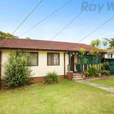 Rental info for Three Bedroom Home in the Sydney area