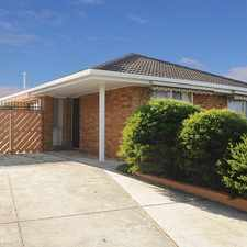 Rental info for Ideal family home with large fenced back garden