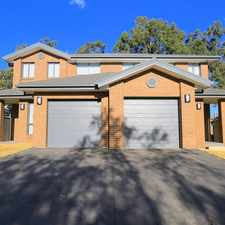 Rental info for Beautifully Presented Brand New 4 Bedroom Duplex in the Sydney area