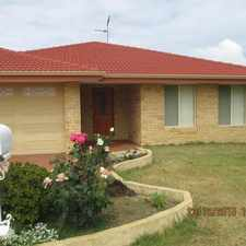 Rental info for SPACIOUS HOME LOCATED IN SOUGHT AFTER HALLS HEAD in the Perth area