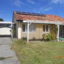 Rental info for Cottage Style Home in the Marangaroo area