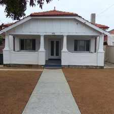 Rental info for ***GREAT LOCATION***OPEN FRI 15TH SEPT 3.30PM - 3.45PM *** in the North Perth area