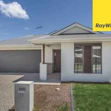 Rental info for 4 BEDROOM WITH GREAT SIZED YARD - MANGO HILL STATE SCHOOL CATCHMENT in the Mango Hill area