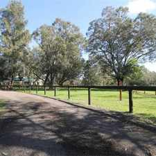 Rental info for 4x2 + 2 paddocks with shelter 1 horse 1 pony allow