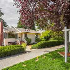 Rental info for Light and Bright West Seattle Charmer in Highly Desired Seaview in the Seaview area