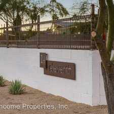 Rental info for 4002 N 11th St in the Phoenix area