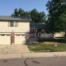 Rental info for 8034 West Ontario Place in the Columbine area