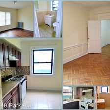 Rental info for 496 Park Ave in the East Orange area