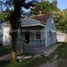 Rental info for 4106 South 1st Street in the Wilder Park area