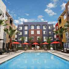 Rental info for Meridian at Midtown in the Buena Vista area