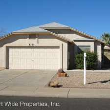 Rental info for 8708 W CLARENDON in the Phoenix area