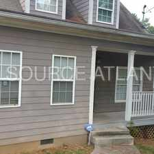 Rental info for Locate Close to Intown Atlanta in the Browns Mill Park area