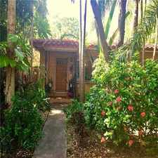 Rental info for 57 Northeast 44th Street in the Miami area
