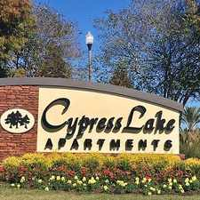 Rental info for 7200 Cypress Lake Apt Blvd in the Mid City North area