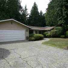 Rental info for 4533-Ave SE 87th Mercer Island Two BR, home in premier