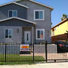 Rental info for 667 West 62nd Street in the Voices of 90037 area
