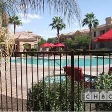 Rental info for Two Bedroom In Mesa Area in the Sunland Village area