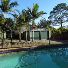 Rental info for HOME WITH POOL AND PET FRIENDLY FOR $510 PER WEEK in the Brisbane area