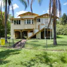 Rental info for Queenslander Charm in the Ipswich area