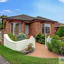 Rental info for Lovely & Large Family Home in the South Hurstville area