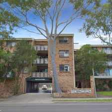Rental info for First Floor Rear Facing Apartment with Leafy Outlook in the Sydney area