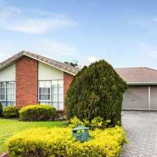 Rental info for Open for Inspection on Saturday 16th September at 10:30am to 10:45am in the Melbourne area