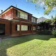 Rental info for GRAND FAMILY HOME IN PRIME LOCATION in the Sydney area