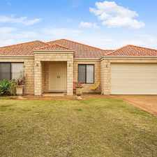 Rental info for HUGE FAMILY HOME WITH POOL in the Perth area