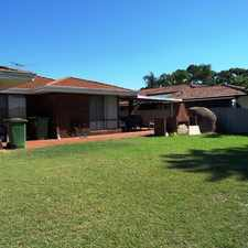 Rental info for REGISTER WITH US TO VIEW in the Perth area