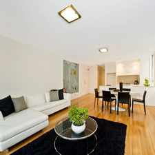 Rental info for DEPOSIT TAKEN - ELEGANT MODERN APARTMENT in the Bellevue Hill area