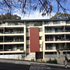 Rental info for Spacious 2 Bedroom Apartment In The Best Location In Gordon in the Killara area