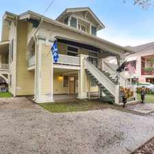 Rental info for Two Bedroom In Garden District in the New Orleans area