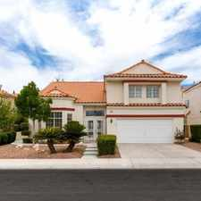 Rental info for Four Bedroom In Las Vegas in the Paradise area