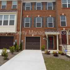 Rental info for Single Family Townhouse with Garage in Newer Development