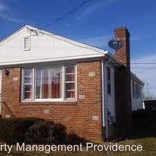 Rental info for 533 Admiral St.