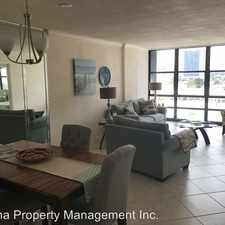 Rental info for 2017 South Ocean Drive APT 603 in the Hallandale Beach area