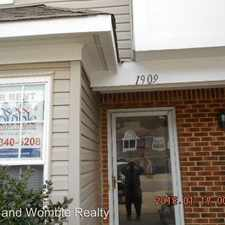 Rental info for 1909 Cranborne Ct. in the Virginia Beach area