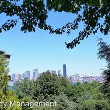 Rental info for 2349 Harbor Avenue SW #101 in the North Admiral area