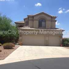 Rental info for Las Sendas 4 Bedroom Home in Gated Community