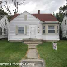 Rental info for 3305 Reed St