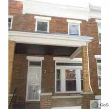 Rental info for 3 bedroom, 2 bath Available Now in the Frankford area