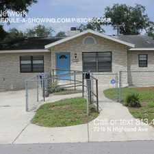 Rental info for 7218 N Highland Ave in the Tampa area