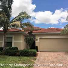 Rental info for 12751 Seaside Key Ct.