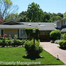 Rental info for 1420 Pitman Ave in the Crescent Park area
