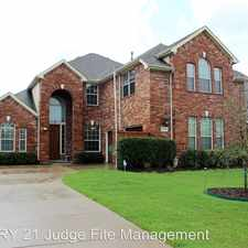 Rental info for 10214 Waterview Parkway in the Rowlett area