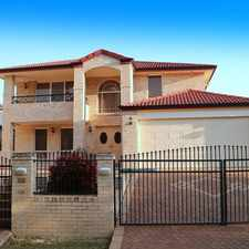 Rental info for Simply Stunning 5 Bedrooms House in Kingman St