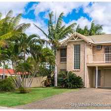 Rental info for Large Brick Townhouse! in the Kawana area