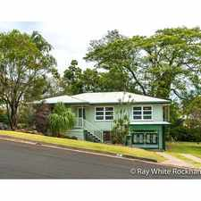Rental info for Frenchville Gem with New Kitchen & Bathroom in the Rockhampton area