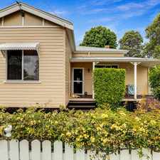 Rental info for Picturesque and perfectly located - low maintenance character living! in the Toowoomba area